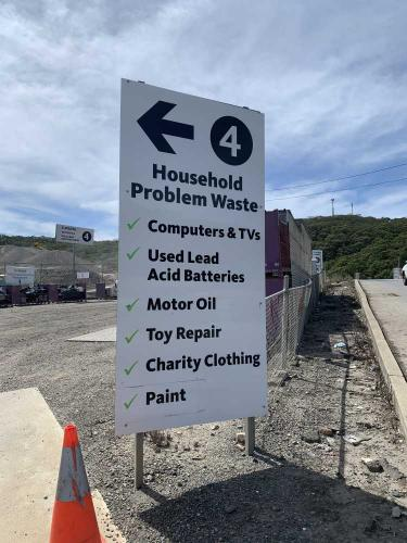Zone 4 - Household Problem Waste